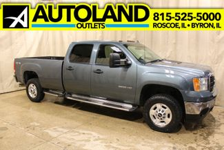 2011 GMC Sierra 2500HD Diesel 4x4 Long Bed SLE in Roscoe, IL 61073