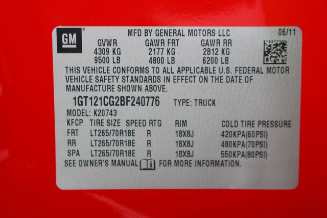 2011 GMC Sierra 2500HD SLT Mooresville , NC 44