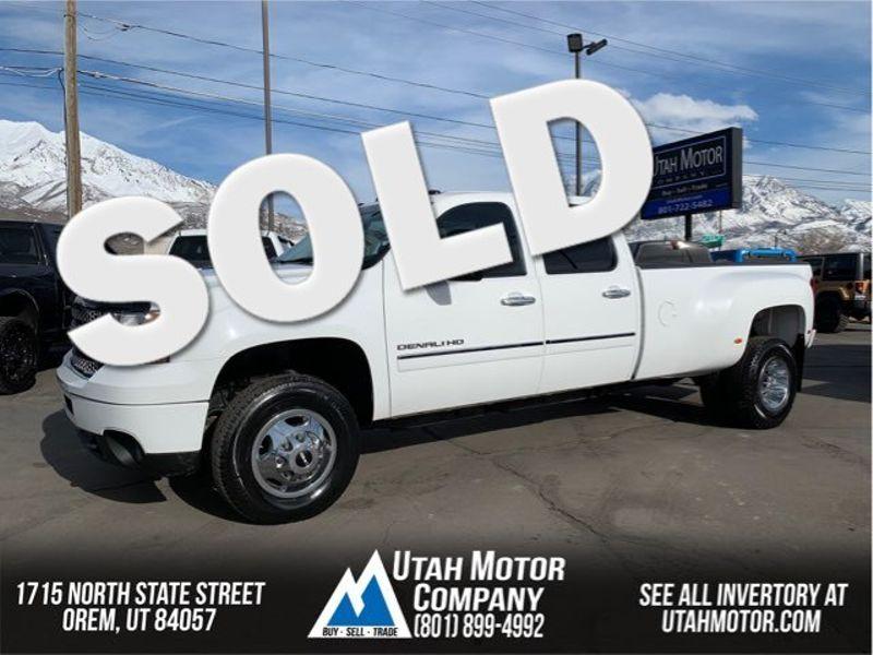 2011 GMC Sierra 3500HD Denali DRW | Orem, Utah | Utah Motor Company in Orem Utah