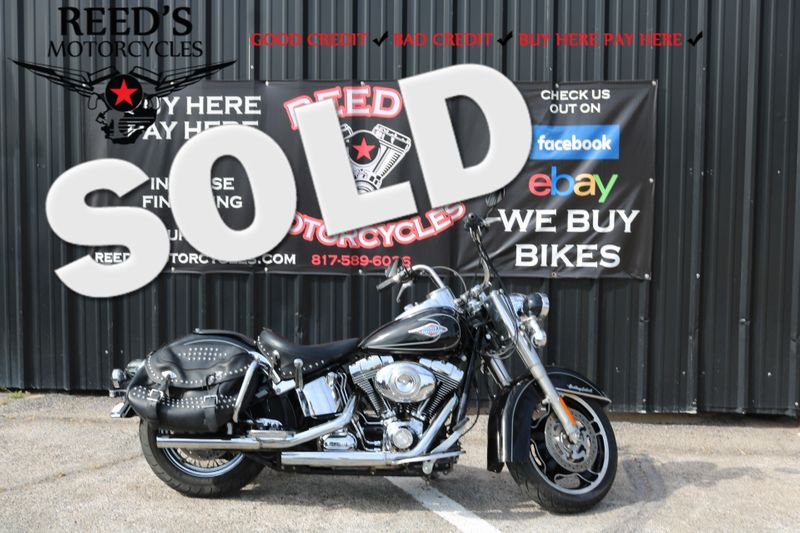 2011 Harley Davidson Heritage Softail Classic FLSTC | Hurst, Texas | Reed's Motorcycles in Hurst Texas