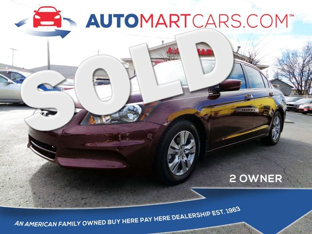 2011 Honda Accord LX-P   Nashville, Tennessee   Auto Mart Used Cars Inc. in Nashville Tennessee