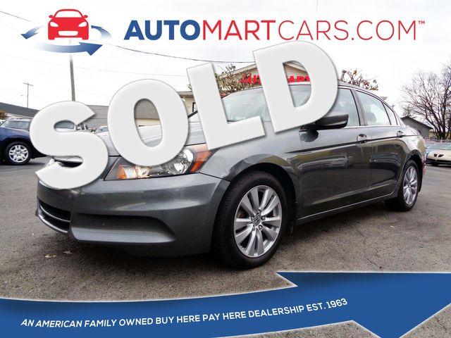 2011 Honda Accord EX-L   Nashville, Tennessee   Auto Mart Used Cars Inc. in Nashville Tennessee