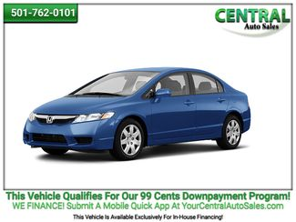 2011 Honda Civic LX   Hot Springs, AR   Central Auto Sales in Hot Springs AR