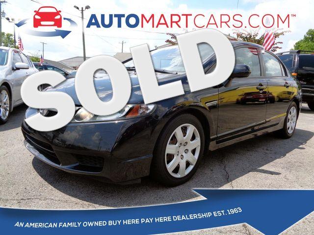 2011 Honda Civic LX   Nashville, Tennessee   Auto Mart Used Cars Inc. in Nashville Tennessee