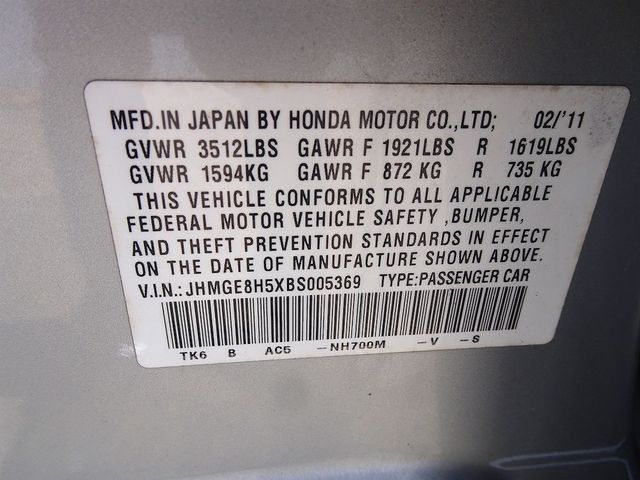 2011 Honda Fit Sport Madison, NC 44