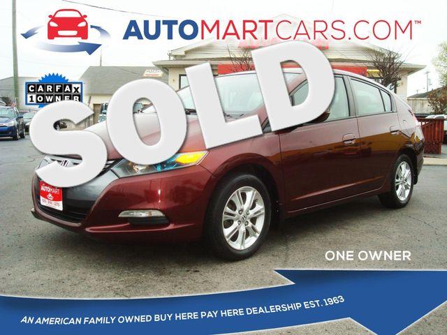 2011 Honda Insight EX   Nashville, Tennessee   Auto Mart Used Cars Inc. in Nashville Tennessee