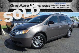 2011 Honda Odyssey EX-L Tv/DVD Sunroof 3rd Row Cln Carfax We Finance | Canton, Ohio | Ohio Auto Warehouse LLC in  Ohio
