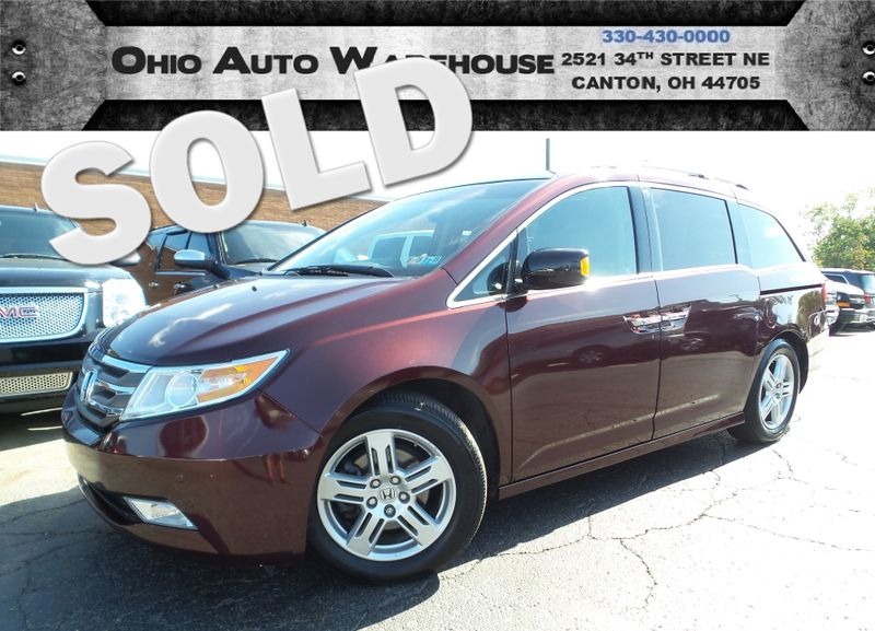 2011 Honda Odyssey Touring Navi Tv/DVD 1-Own Cln Carfax We Finance | Canton, Ohio | Ohio Auto Warehouse LLC in Canton Ohio