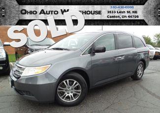 2011 Honda Odyssey EX-L Sunroof Leather V6 Clean Carfax We Finance | Canton, Ohio | Ohio Auto Warehouse LLC in Canton Ohio