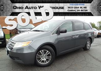 2011 Honda Odyssey EX-L Sunroof Leather V6 Clean Carfax We Finance | Canton, Ohio | Ohio Auto Warehouse LLC in Canton Ohio