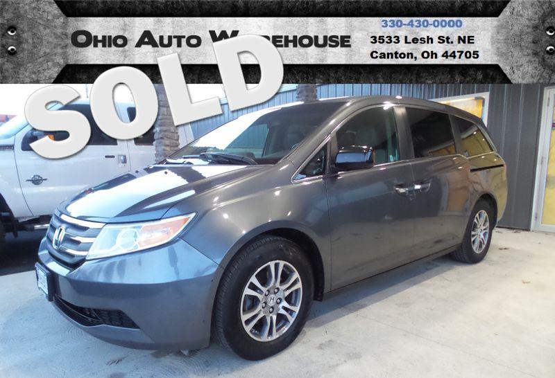 2011 Honda Odyssey EX-L Sunroof Tv/DVD 3rd Row Cln Carfax We Finance | Canton, Ohio | Ohio Auto Warehouse LLC in Canton Ohio