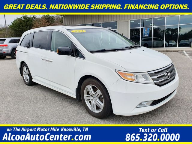 2011 Honda Odyssey Touring Elite w/DVD/Leather/Sunroof