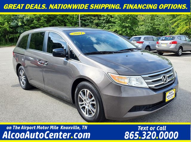 2011 Honda Odyssey EX-L DVD 8-Passenger Leather/Sunroof/Alloys