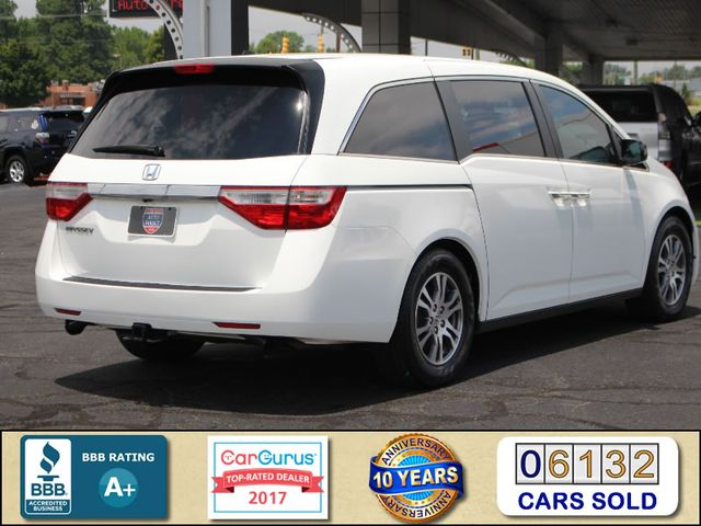 2011 Honda Odyssey EX-L W/ RES (REAR DVD ENTERTAINMENT) - SUNROOF! Mooresville , NC 2