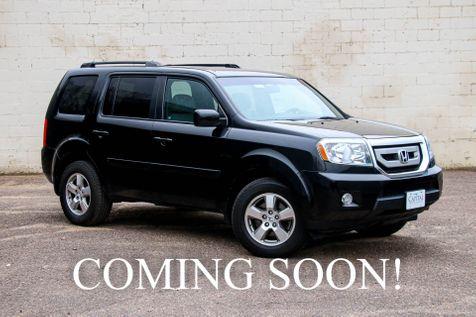 2011 Honda Pilot EX-L 4WD w/3rd Row Seats, DVD Entertainment, Heated Seats, Backup Cam, Moonroof & Tow Package in Eau Claire