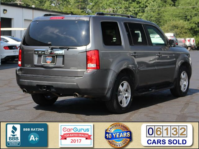 2011 Honda Pilot EX-L 4WD - SUNROOF - HEATED LEATHER! Mooresville , NC 2