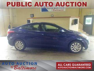 2011 Hyundai Elantra GLS PZEV   JOPPA, MD   Auto Auction of Baltimore  in Joppa MD