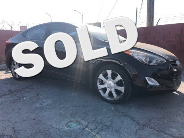 2011 Hyundai Elantra Ltd PZEV CAR PROS AUTO CENTER (702) 405-9905 Las Vegas, Nevada