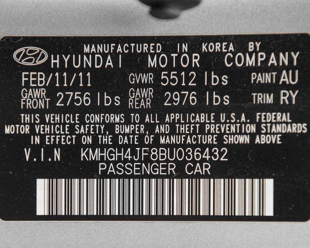 2011 Hyundai Equus Signature Burbank, CA 36