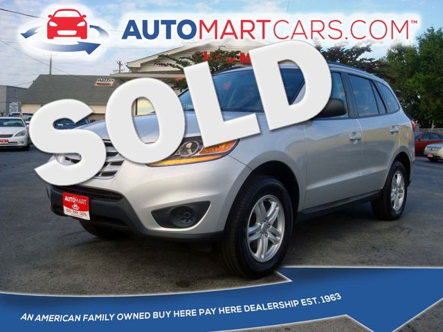 2011 Hyundai Santa Fe GLS | Nashville, Tennessee | Auto Mart Used Cars Inc. in Nashville Tennessee