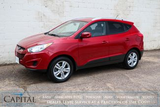 2011 Hyundai Tucson GLS AWD with Heated Seats, Bluetooth Streaming and Split Folded Rear Seats in Eau Claire, Wisconsin 54703
