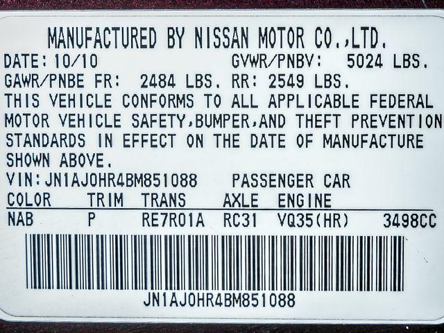 2011 Infiniti EX35 Journey AWD Burbank, CA 29