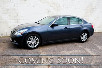 2011 Infiniti G37x AWD Luxury-Sport Sedan w/Navigation, Backup Cam, Heated Seats, Moonroof & BOSE Audio in Eau Claire, Wisconsin 54703