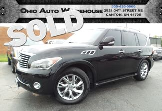 2011 Infiniti QX56 4x4 Navi Tv/DVD 3rd Row Roof Cln Carfax We Finance | Canton, Ohio | Ohio Auto Warehouse LLC in  Ohio