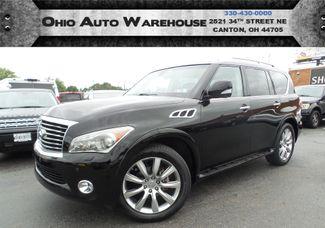 2011 Infiniti QX56 4x4 Navi 3rd Row Sunroof Clean Carfax We Finance | Canton, Ohio | Ohio Auto Warehouse LLC in  Ohio