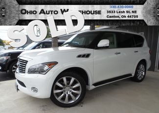 2011 Infiniti QX56 Navi Sunroof DVD 1-Owner Clean Carfax We Finance | Canton, Ohio | Ohio Auto Warehouse LLC in Canton Ohio