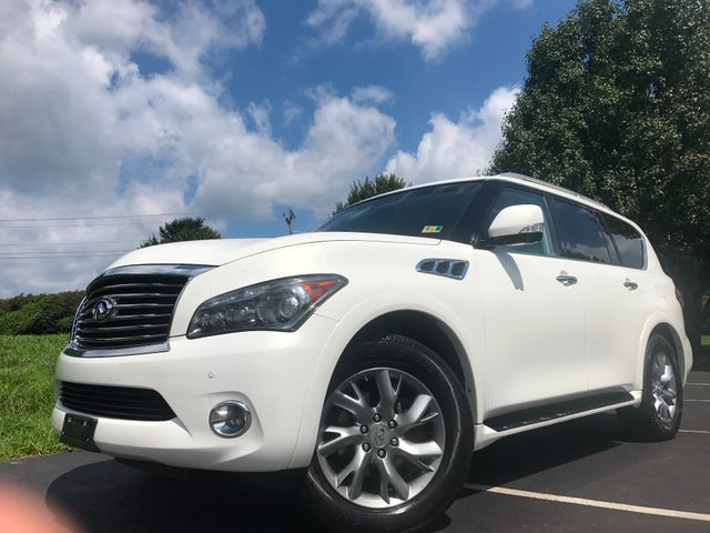 2011 Infiniti QX56 8-passenger in Leesburg Virginia, 20175