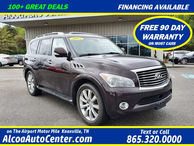 "2011 Infiniti QX56 4WD DELUXE TOURING PKG w/DVD/22"" Wheels in Louisville, TN 37777"