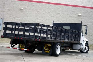 2011 International 4300M7 SBA LP 1-Owner * 20' Stake Bed *DURASTAR 4300* Air Brakes Plano, Texas 4