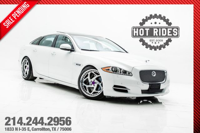 2011 Jaguar XJ XJL Supercharged With Air Ride Suspension