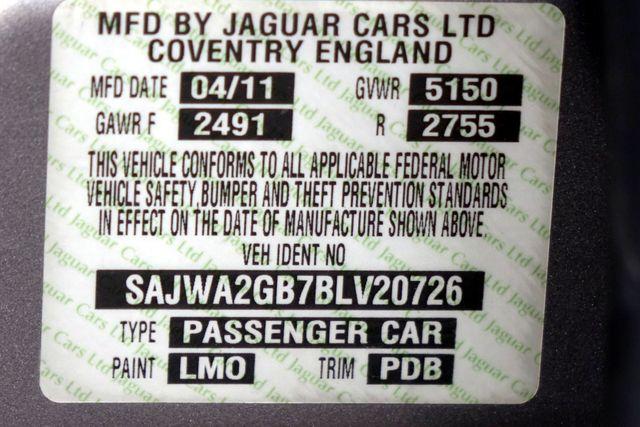 2011 Jaguar XJ XJL * Visibility Pkg * 19's * PANO ROOF * XJ L * Plano, Texas 48
