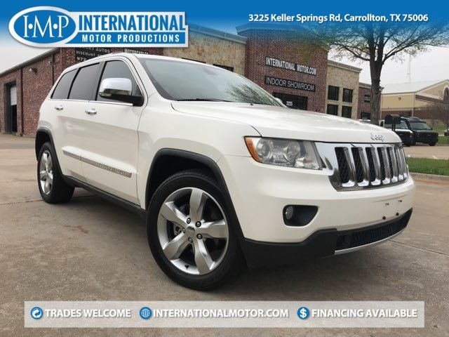 2011 Jeep Grand Cherokee Overland. ONE OWNER