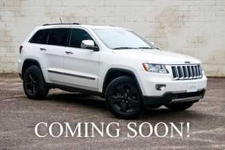 2011 Jeep Grand Cherokee Overland 4x4 w/ Nav, Panoramic  in Eau Claire, Wisconsin