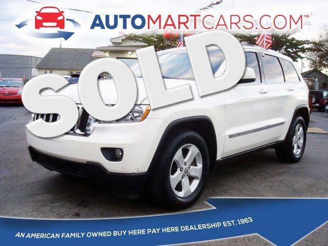 2011 Jeep Grand Cherokee Laredo | Nashville, Tennessee | Auto Mart Used Cars Inc. in Nashville Tennessee