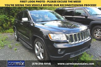 2011 Jeep Grand Cherokee Overland  city PA  Carmix Auto Sales  in Shavertown, PA