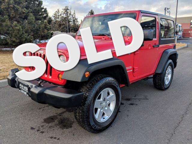 2011 Jeep Wrangler Sport Bend, Oregon