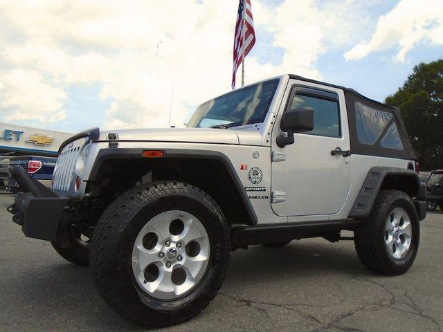 2011 Jeep Wrangler Sport Madison, NC 11
