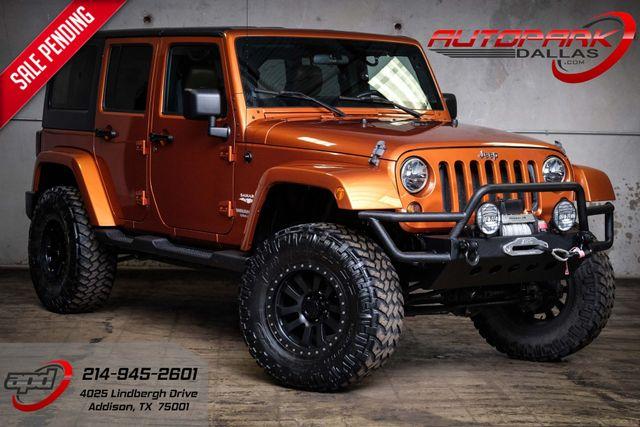 2011 Jeep Wrangler Unlimited Sahara Starwood Customized w/ Upgrades
