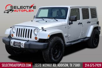 2011 Jeep Wrangler Unlimited Sahara*4X4*LEATHER*NAV*HTD SEATS* in Addison, TX 75001