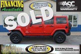 2011 Jeep Wrangler Unlimited Sahara 4x4 in  Minnesota