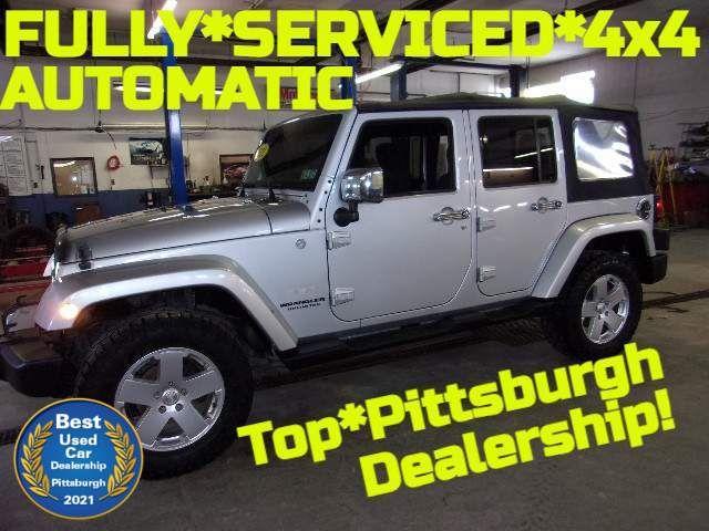 2011 Jeep Wrangler Unlimited Sahara in Bentleyville, Pennsylvania 15314