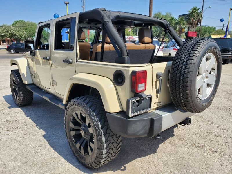 2011 Jeep Wrangler Unlimited Sahara  Brownsville TX  English Motors  in Brownsville, TX