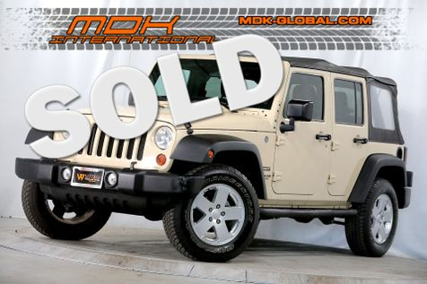 2011 Jeep Wrangler Unlimited Sport - 4x4 - Alloy wheels - Running boards in Los Angeles