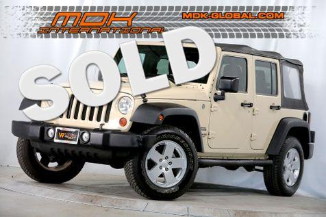 2011 Jeep Wrangler Unlimited Sport - 4x4 - Alloy wheels - Running boards in Los Angeles