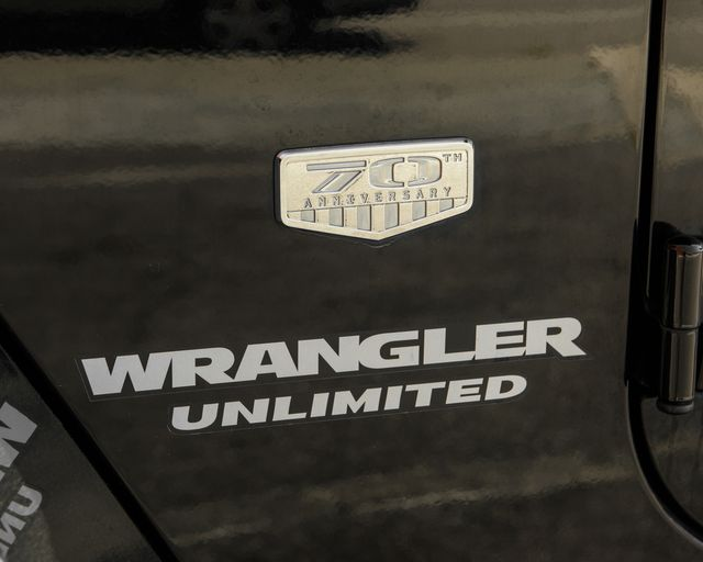 2011 Jeep Wrangler Unlimited 70th Anniversary Burbank, CA 10