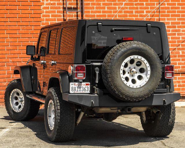 2011 Jeep Wrangler Unlimited 70th Anniversary Burbank, CA 5